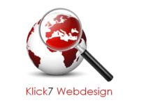 Logo Klick7 Webdesign Augsburg
